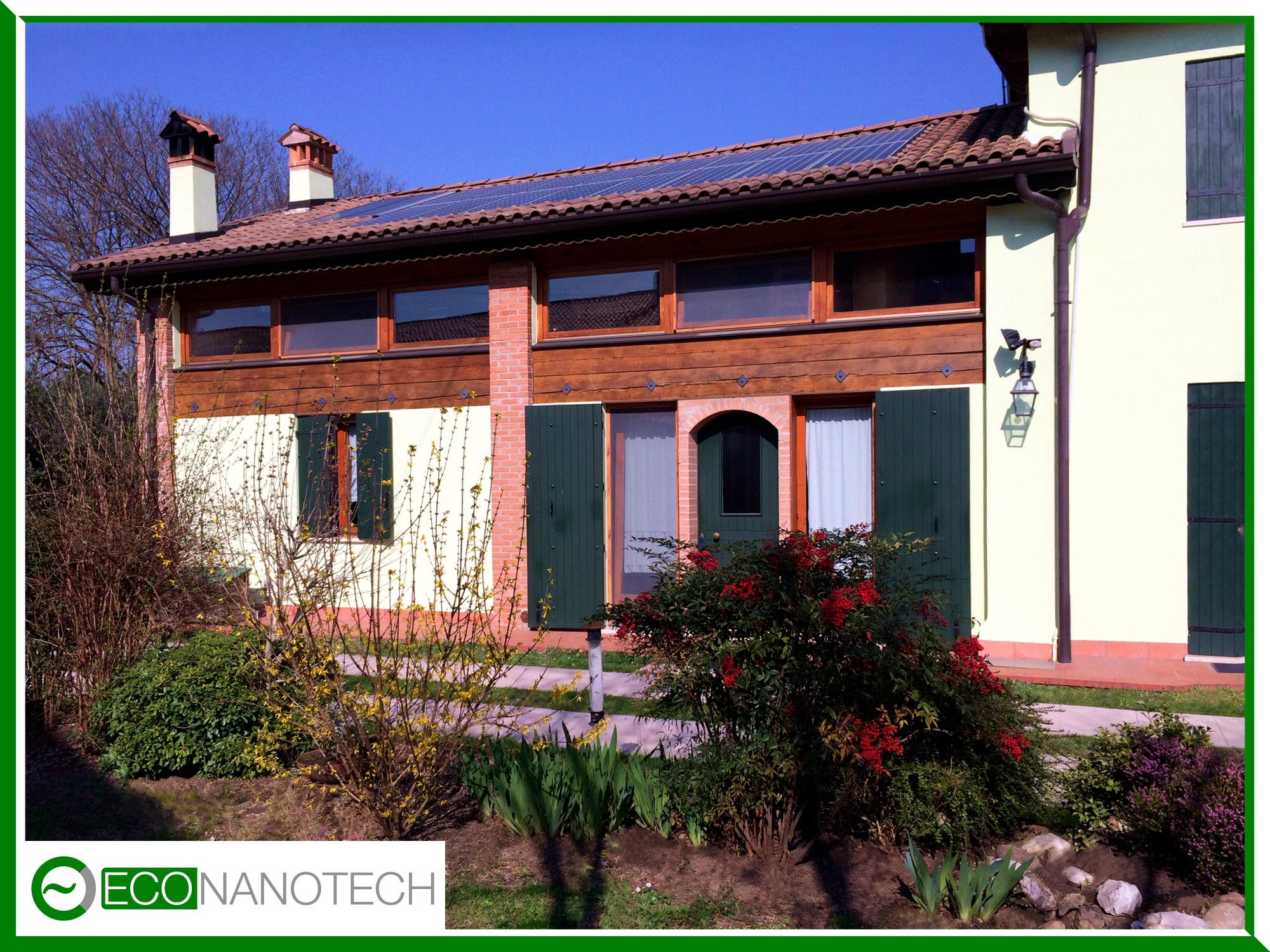 Eco Nanotech - riqualificazione energetica con nanotecnologia rustico