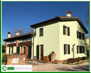 Eco Nanotech rivestimenti isolanti condomini e abitazioni classe energetica A